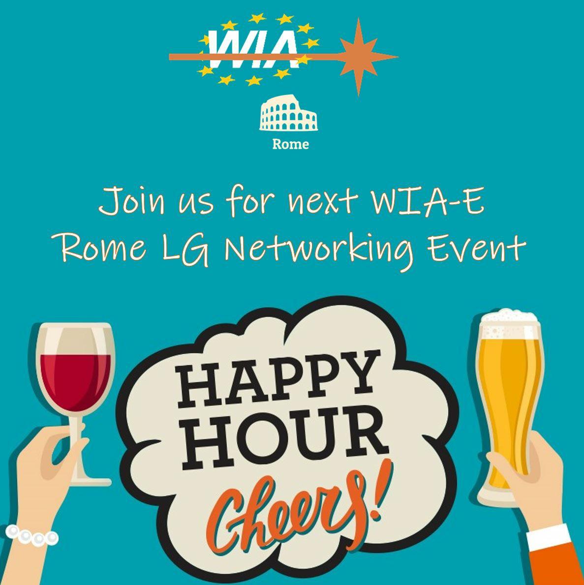 WIA-E Rome invites to Networking happy hour event