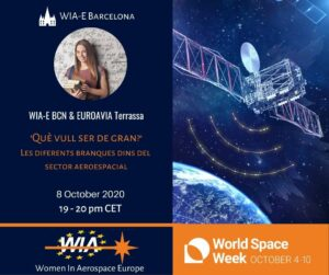 World Space Week 2020: WIA-E Barcelona invites to a talk on the ...
